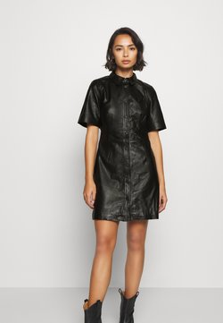 Object Petite - OBJPRIA L DRESS  - Robe d'été - black