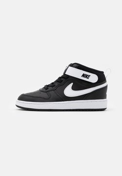 Nike Sportswear - COURT BOROUGH MID UNISEX - Baskets montantes - black/white