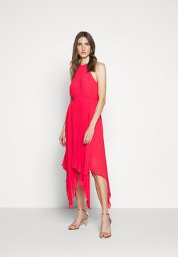 MICHAEL Michael Kors - PLEATED HALTER DRESS - Ballkleid - geranium