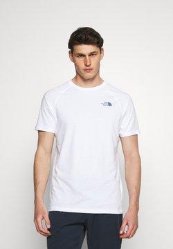 The North Face - TEE - T-shirt print - white/vintage indigo