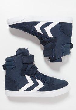 Hummel - SLIMMER STADIL - Sneakers hoog - dress blue