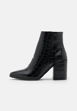 Rubi Shoes by Cotton On - AMINA HELLED DRESS - Korte laarzen - black