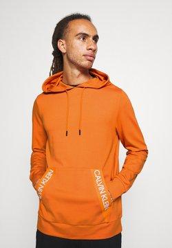 Calvin Klein Performance - HOODIE - Huppari - orange