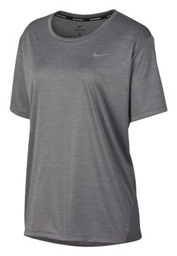 Nike Performance - MILER  - T-Shirt print - gray