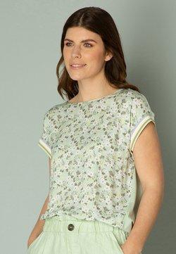 yesta - ISOLDE - T-Shirt print - light aqua/multi col