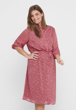 ONLY Carmakoma - ONL BEDRUCKTES CURVY - Blusenkleid - withered rose