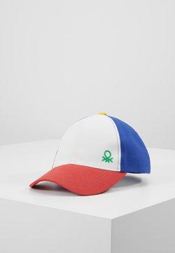 Benetton - WITH VISOR - Keps - white