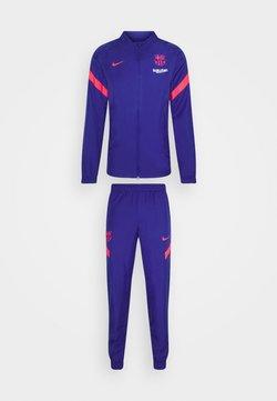 Nike Performance - FC BARCELONA MNK DRY SET - Equipación de clubes - deep royal blue/lt fusion red