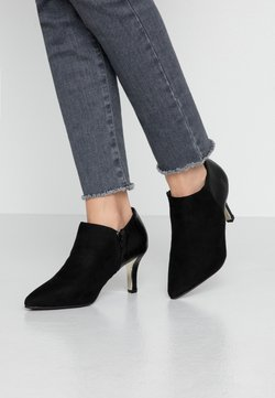 New Look Wide Fit - WIDE FIT ROBOTIC - Boots à talons - black