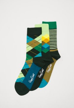 Happy Socks - CLASSICS 3 PACK UNISEX - Socken - multi greens