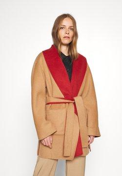 comma - LANGARM - Classic coat - camel doub