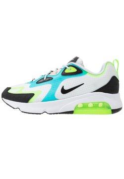 Nike Sportswear - AIR MAX 200 SE - Matalavartiset tennarit - white/black/electric green/oracle aqua/washed coral