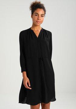 Selected Femme - SFDAMINA 7/8 DRESS - Blusenkleid - black