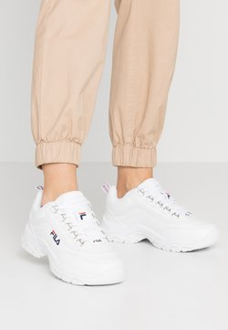 Fila - STRADA - Sneakersy niskie - white