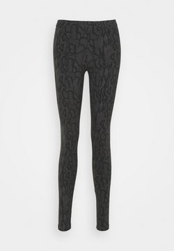 Noisy May - NMKERRY ANILLA   - Leggings - Hosen - asphalt