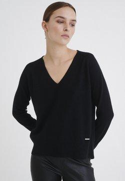 InWear - LUKKA  - Stickad tröja - black