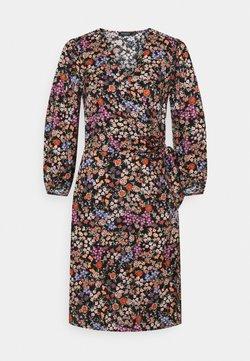 Soaked in Luxury - KIMAYA WRAP DRESS - Freizeitkleid - multi-coloured