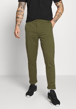 Nudie Jeans - EASY ALVIN - Chinos - green