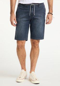 Pioneer Authentic Jeans - RICK - Jeansshort - dark used