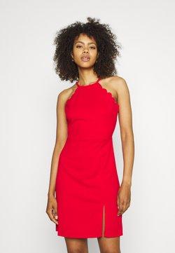 WAL G. - YELDA SCALLOP NECK DRESS - Vestito elegante - red