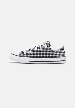 Converse - CHUCK TAYLOR ALL STAR GINGHAM UNISEX - Sneakers basse - black/white