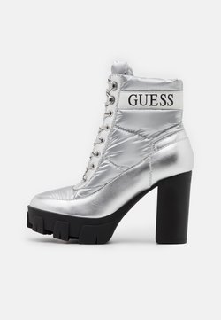 Guess - NASHIA - Plateaustiefelette - argent