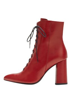 PoiLei - High Heel Stiefelette - red