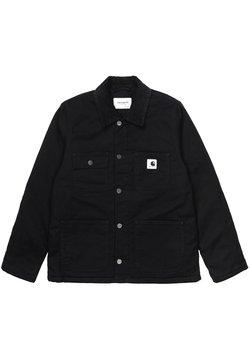 Carhartt WIP - MICHIGAN - Veste en jean - black / black rinsed