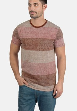Solid - TEINE - T-Shirt print - wine red
