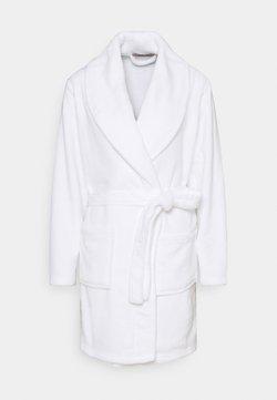 Anna Field - LADIES PLUSH BATHROBE  - Peignoir - white