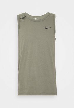 Nike Performance - DRY TANK SOLID - Funktionströja - light army/black