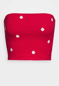 Hollister Co. - REVERSIBLE TUBE - Top - red