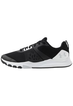 Under Armour - TRIBASE EDGE TRAINER - Sportschoenen - black/white/halo gray