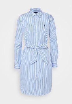 Polo Ralph Lauren - Blusenkleid - white/blue