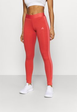 adidas Performance - Tights - crew red/hazy rose