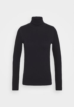 Daily Sports - MAGGIE ROLL NECK - Longsleeve - navy