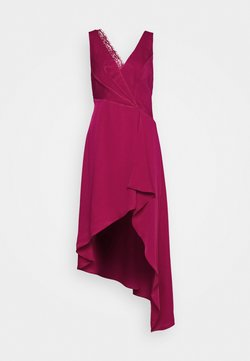 BCBGMAXAZRIA - EVE LONG DRESS - Vestido de fiesta - vivid fuchsia