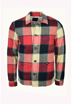 Superdry - Übergangsjacke - willoughby red check