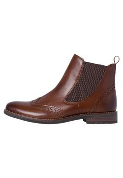 Marco Tozzi - CHELSEA  - Ankle Boot - chestnut