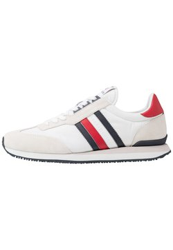 Tommy Hilfiger - MIX RUNNER STRIPES - Sneaker low - red