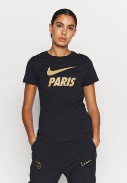 Nike Performance - PARIS ST GERMAIN TEE GROUND - Fanartikel - black