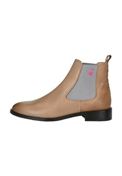 Crickit - CHELSEA BOOT SUVI MIT KLEINEN HERZCHEN - Ankle Boot - light brown