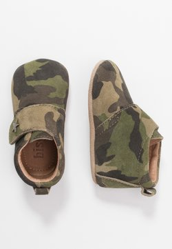 Bisgaard - BABY STAR HOME SHOE - Chaussons pour bébé - army