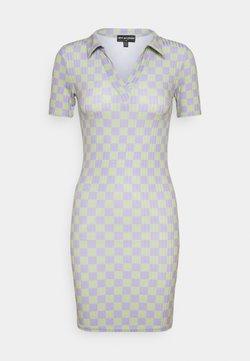 NEW girl ORDER - CHECKERBOARD DRESS - Jerseykleid - multi