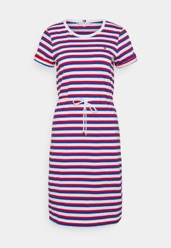 Tommy Hilfiger - COOL SHORT DRESS  - Jerseykleid - ombre/fireworks
