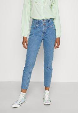 Trendyol - MAVI - Jeansy Straight Leg - blue