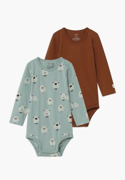 Lindex - SHEEP 2 PACK - Body - brown