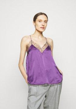 Iro - BERWYN - Top - purple/grey