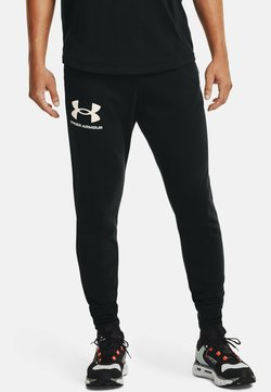 Under Armour - RIVAL TERRY  - Jogginghose - black