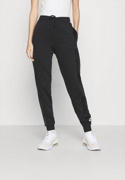 Nike Sportswear - HRTG VELOUR - Jogginghose - black/white